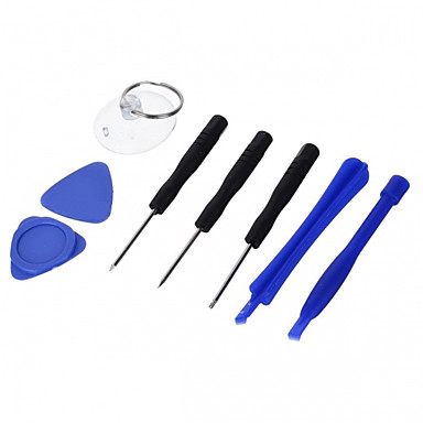 cheap Repair Tools & Replacement Parts-Cell Phone Repair Tools Kit New Design Screwdriver / Suction Cup / Plastic / Stianless Steel Pry Replacement Tools Cell Phone