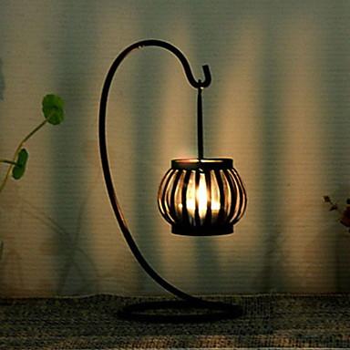 أسلوب بسيط الحديد Candle Holders 1PC, شمعة / حامل شمعة