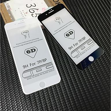 olcso iPhone 8 képernyővédő fóliák-AppleScreen ProtectoriPhone 8 Plus High Definition (HD) Kijelzővédő fólia 1 db Edzett üveg