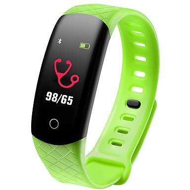 COOLHILLS CB608 PRO سوار الذكية Android iOS بلوتوث ضد الماء رصد معدل ضربات القلب أصفر فاتح شاشة لمس عداد الخطى تذكرة بالاتصال متتبع النوم تذكير المستقرة أجد هاتفي / ساعة منبهة / حساس الجاذبية