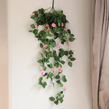 زهور اصطناعية 1 فرع نموذج الحديث المعاصر أسلوب بسيط الزهور الخالدة أزهار الحائط