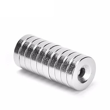 10 قطع 8x3 ملليمتر حفرة 3 ملليمتر سوبر قوية حلقة حلقة الغاطسة مغناطيس نادر الأرض الجدد النيوديميوم المغناطيس اسطوانة 8 ملليمتر