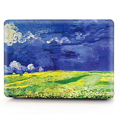 [$12 59] MacBook Case Oil Painting Plastic for New MacBook Pro 15-inch /  New MacBook Pro 13-inch / Macbook Pro 15-inch