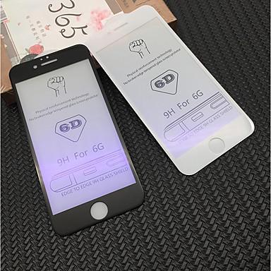 Недорогие Защитные пленки для iPhone 6s / 6-AppleScreen ProtectoriPhone 6s Уровень защиты 9H Защитная пленка для экрана 1 ед. Закаленное стекло / Фильтр синего света