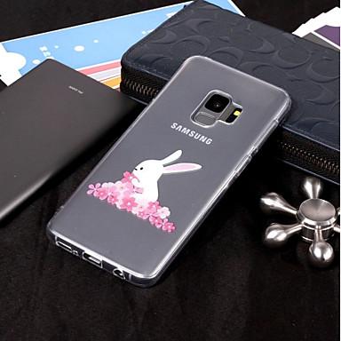 غطاء من أجل Samsung Galaxy S9 / S9 Plus / S8 Plus IMD / شفاف / نموذج غطاء خلفي حيوان ناعم TPU