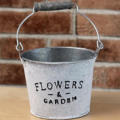 زهور اصطناعية 1 فرع كلاسيكي زهري المزهرية أزهار الطاولة / واحدة زهرية