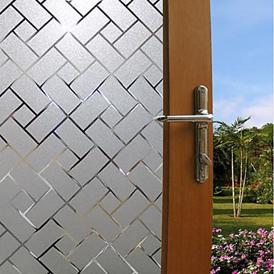 Prozor Film i Naljepnice Ukras Mat / Suvremena Geometrijski oblici PVC Naljepnica za prozor / Mat