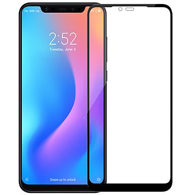 Недорогие Защитные плёнки для экранов Xiaomi-протектор экрана nillkin для xiaomi xiaomi mi 8 закаленное стекло 1 шт. защитная пленка для всего тела высокой четкости (hd) / 9h твердость / взрывозащита
