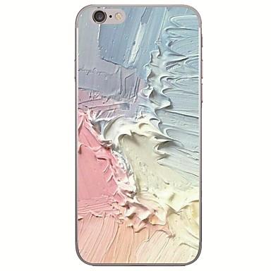 voordelige iPhone 5 hoesjes-hoesje Voor Apple iPhone X / iPhone 8 Plus / iPhone 8 Ultradun / Patroon Achterkant Landschap / Olieverfschilderij Zacht TPU