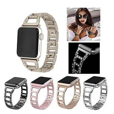 voordelige Smartwatch-accessoires-Horlogeband voor Apple Watch Series 5/4/3/2/1 Apple Sportband / DHZ Gereedschap Roestvrij staal Polsband