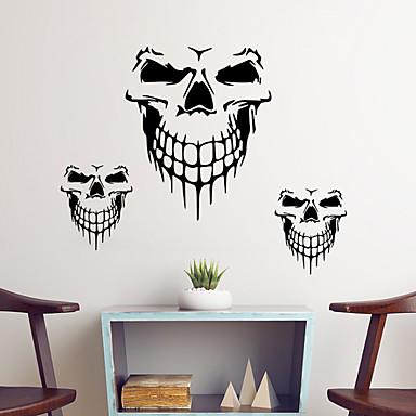 لواصق حائط مزخرفة - عطلة ملصقات الحائط Halloween غرفة الجلوس / غرفة النوم / دورة المياه / قابل اعادة الوضع