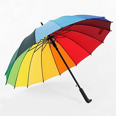 البوليستر / ستانلس ستيل الجميع قابلة لإعادة التدوير مظلة مستقيمة