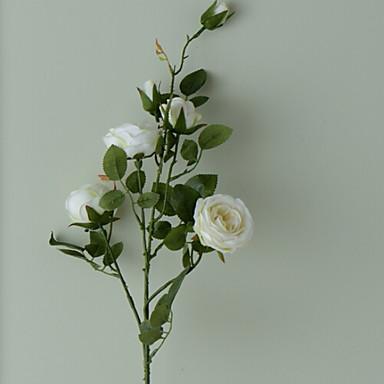 زهور اصطناعية 1 فرع كلاسيكي الحديث المعاصر أسلوب بسيط الورود أزهار الأرض