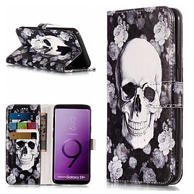 Недорогие Чехлы и кейсы для Galaxy S-Кейс для Назначение SSamsung Galaxy S9 / S9 Plus / S8 Plus Кошелек / Бумажник для карт / со стендом Чехол Мандала Твердый Кожа PU