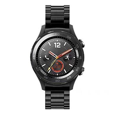Недорогие Аксессуары для смарт-часов-Ремешок для часов для Huawei Watch 2 Huawei Миланский ремешок Нержавеющая сталь Повязка на запястье