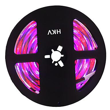 HKV 5m شرائط قابلة للانثناء لأضواء LED 300 المصابيح 3528 SMD RGB قابل للقص / قابلة للربط / اللصق التلقي 12 V 1PC