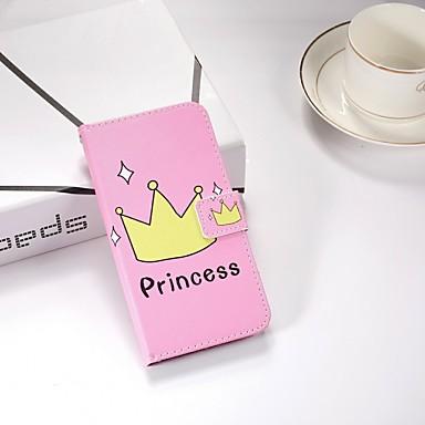 غطاء من أجل Samsung Galaxy S9 / S9 Plus / S8 Plus محفظة / مع حامل / قلب غطاء كامل للجسم كارتون قاسي جلد PU