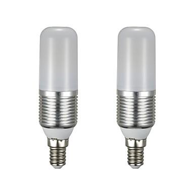 2pcs 9 W LED kukorica izzók 850 lm E14 T 60 LED gyöngyök SMD 2835 Új design Meleg fehér Fehér 85-265 V