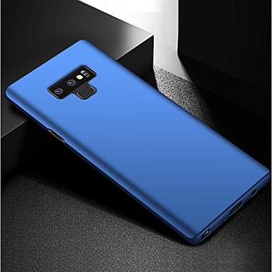 غطاء من أجل Samsung Galaxy Note 9 / Note 8 / Note 5 نحيف جداً / مثلج غطاء خلفي لون سادة قاسي الكمبيوتر الشخصي