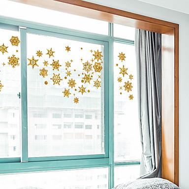 فيلم نافذة وملصقات زخرفة عيد الميلاد عطلة PVC ملصق النافذة / شوب / مقهى