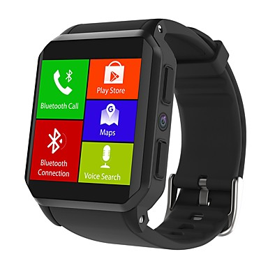 رخيصةأون ساعات ذكية-king-wear® kw06 lte 3g android ساعة ذكية بلوتوث اللياقة البدنية تعقب دعم إخطار / رصد معدل ضربات القلب الرياضية smartwatch الهاتف متوافق فون / سامسونج / الهواتف android
