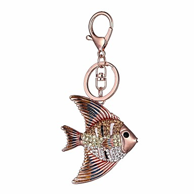 Guinea pig pink axolotl keychain or necklace or retractable ID badge clip Free shipping Gift