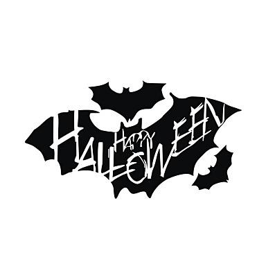 لواصق حائط مزخرفة - لواصق حائط الطائرة أشكال / Halloween غرفة الجلوس