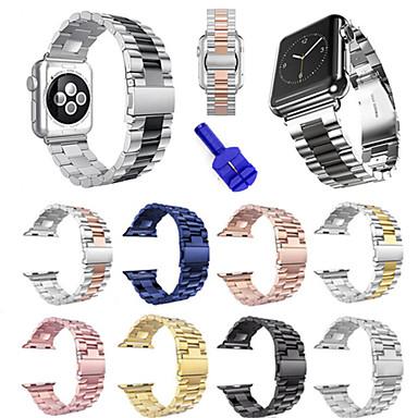billige Apple Watch-remmer-Klokkerem til Apple Watch Series 5/4/3/2/1 Apple Sportsrem / DIY Verktøy Rustfritt stål Håndleddsrem