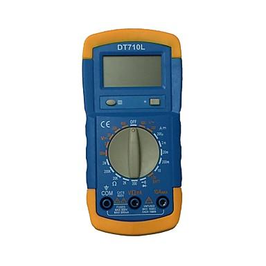 dt710l LCD يده رقمي متعدد باستخدام للمنزل والسيارة