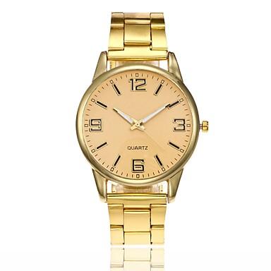 048eb204d5e7 Mujer Reloj de Vestir Reloj de Pulsera Cuarzo Plata   Dorado   Oro Rosa  Nuevo diseño Reloj Casual Esfera Grande Analógico damas Moda Minimalista -  Dorado ...