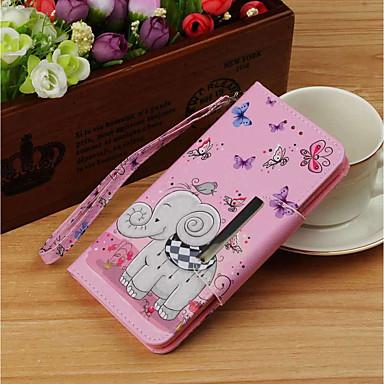 غطاء من أجل Huawei Mate 10 pro / Mate 10 lite محفظة / حامل البطاقات / مع حامل غطاء كامل للجسم فيل قاسي جلد PU