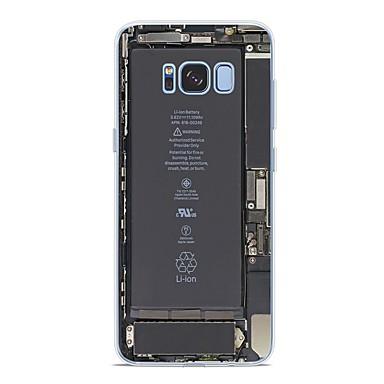 غطاء من أجل Samsung Galaxy S9 / S9 Plus / S8 Plus نموذج غطاء خلفي قرميدة ناعم TPU