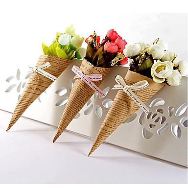 زهور اصطناعية 1 فرع كلاسيكي دعامات الزفاف الورود أزهار الطاولة