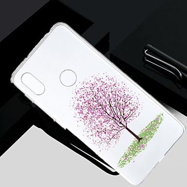 غطاء من أجل Xiaomi Redmi Note 5A / Xiaomi Redmi Note 4X / Xiaomi Redmi Note 4 شفاف / شبه شفّاف / نموذج غطاء خلفي شجرة ناعم TPU / Xiaomi Redmi 4A