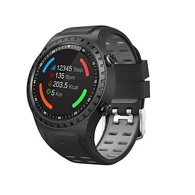 رخيصةأون ساعات ذكية-M1s ساعة ذكية بلوتوث اللياقة البدنية تعقب دعم الإخطار / رصد معدل ضربات القلب المدمج في نظام تحديد المواقع الرياضية smartwatch متوافق مع الهواتف فون / سامسونج / الروبوت