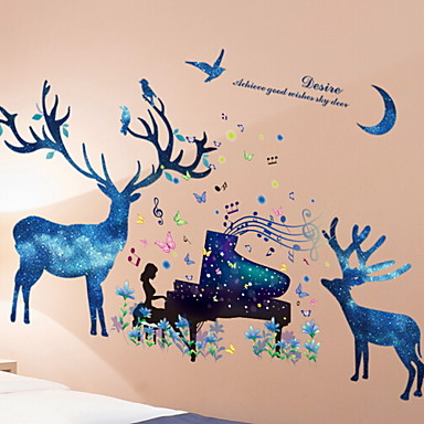 Dekorative Wand Sticker Flugzeug Wand Sticker Tiere Schlafzimmer