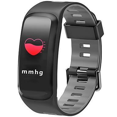 Недорогие Смарт-электроника-JSBP F4PLUS Женский Умный браслет Android iOS Bluetooth Спорт Водонепроницаемый Пульсомер Измерение кровяного давления Сенсорный экран / Датчик для отслеживания активности / Датчик частоты пульса