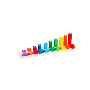 olcso Math játékok-Játékos számtan Alak válogató játék SUV Új design Brojke Fa 1 pcs Gyermek Összes Fiú Lány Játékok Ajándék