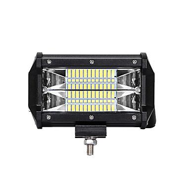 Недорогие Противотуманные фары-1 шт. Нового поколения светодиодный чип 72w 3030 24smd 6500k led suv atv engineering truck work light