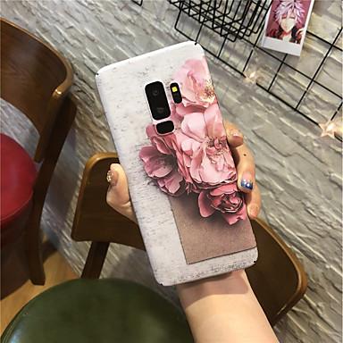 povoljno Maske/futrole za Galaxy S seriju-Θήκη Za Samsung Galaxy S9 / S9 Plus / S8 Plus Mutno Stražnja maska Cvijet Tvrdo PC