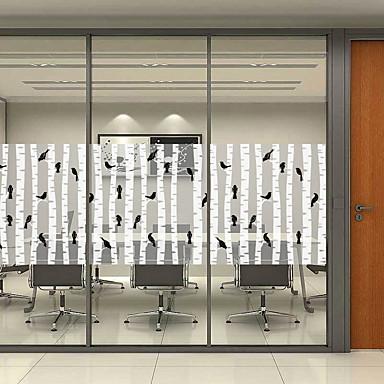 فيلم نافذة وملصقات زخرفة ماط / معاصر / Halloween شخصية PVC ملصق النافذة / بدون لمعة / غرفة المعيشة / غرفة حمام / شوب / مقهى