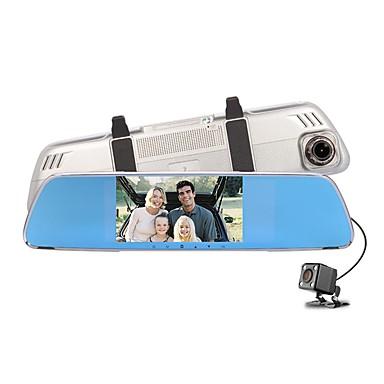 Factory OEM 720p HD / ليلة الرؤية سائق سيارة 140 درجة زاوية واسعة 12 MP 4.3 بوصة IPS داش كام مع تسجيل غير منتهي / حلقة دورة التسجيل لا مسجل السيارة