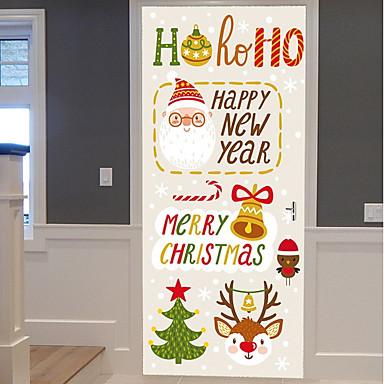 ملصقات الباب - لواصق كريستمس داخلي