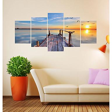 لواصق حائط مزخرفة - لواصق مناظر طبيعية / أشكال غرفة الجلوس / غرفة النوم