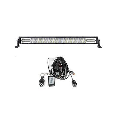 Lights Maker 1 قطعة كيبل الأتصال سيارة لمبات الضوء 480 W SMD 3030 200 LED ضوء العمل من أجل عالمي جميع الموديلات كل السنوات