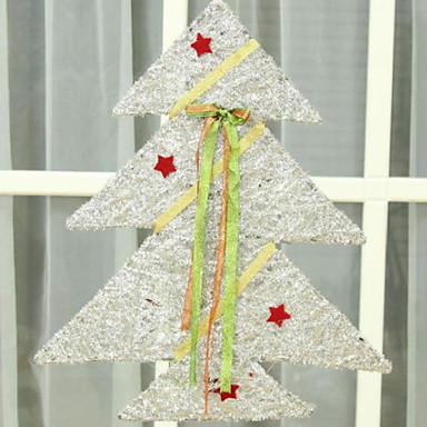 عيد الميلاد الحلي عطلة بلاستيك مربع حداثة زينة عيد الميلاد