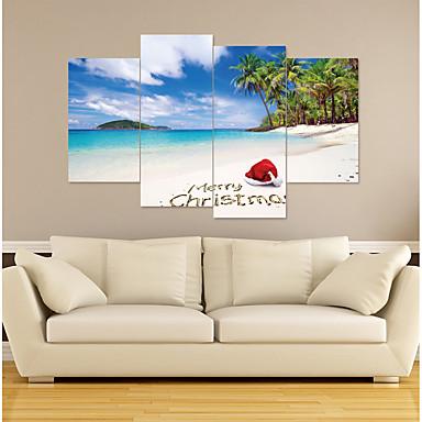 لواصق حائط مزخرفة - لواصق / عطلة ملصقات الحائط تصويري / كريستمس غرفة النوم / غرفة الأطفال