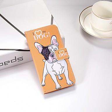 رخيصةأون حافظات / جرابات هواتف جالكسي J-غطاء من أجل Samsung Galaxy J6 / J5 (2017) / J4 محفظة / مع حامل / قلب غطاء كامل للجسم كلب قاسي TPU