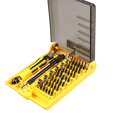 رخيصةأون أدوات اليد-45 في 1 تركيبة متعددة الوظائف مزيج الكمبيوتر المحمول مفك مع إصلاح الدقة والتمزق