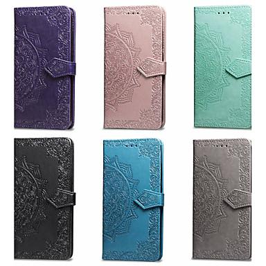 voordelige Galaxy Note-serie hoesjes / covers-hoesje Voor Samsung Galaxy Note 9 Portemonnee / Kaarthouder / met standaard Volledig hoesje Mandala Hard PU-nahka